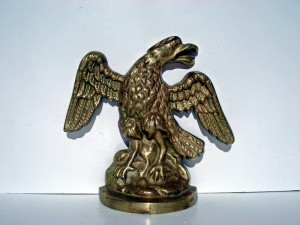 Brass Eagle Doorstop
