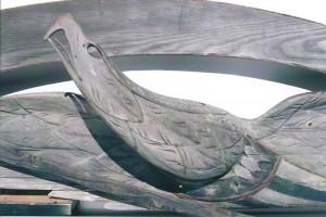 Large Bellamy Eagle (detail)
