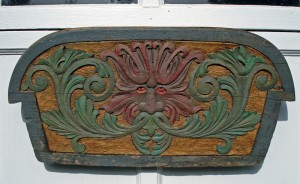 Stern Board Carving